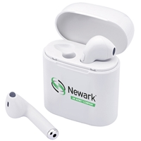 White Wireless Earbuds